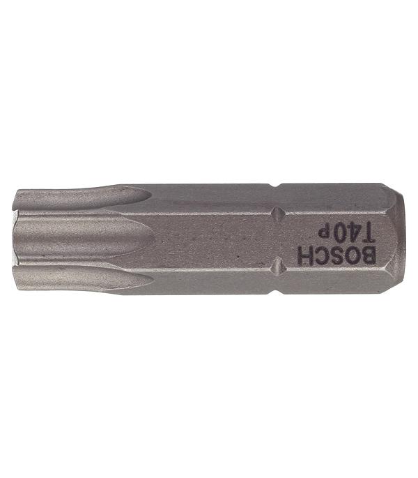 Фото - Бита Bosch (2607001625) TORX T40 25 мм (3 шт.) бита bosch 2607001575 pz1 49 мм 3 шт