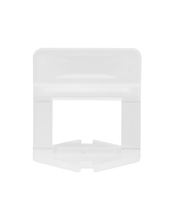 Купить Система выравнивания плитки Beorol зажим 1 мм (100 шт), Белый