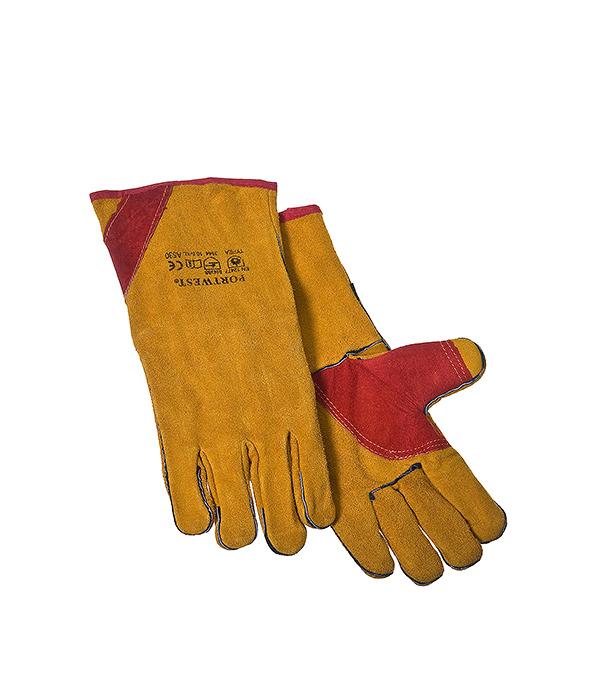 Перчатки для сварщика краги ТРЕК 14 цена
