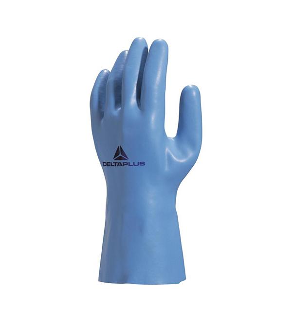 Перчатки Delta Plus VE920 химостойкие латексные размер 9 matador перчатки латексные коричневые 4 размера 7 0 1 пара