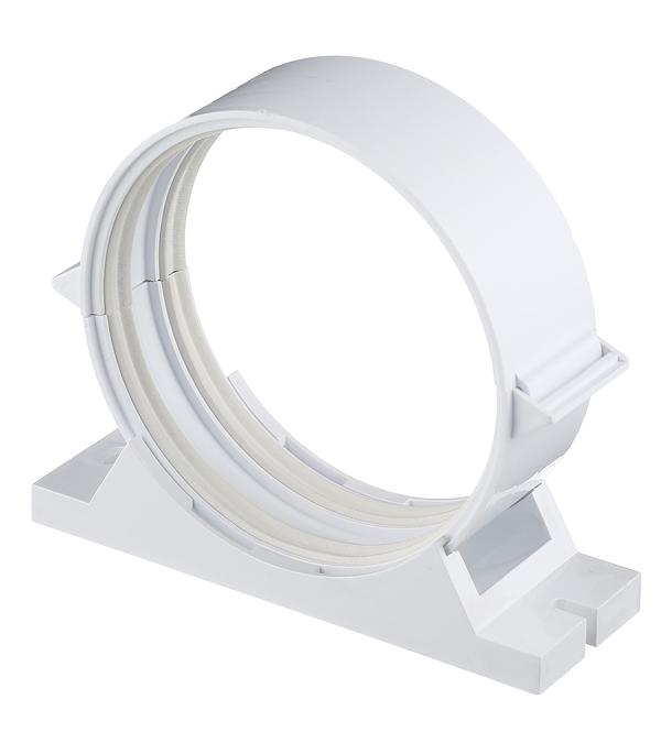 Держатель для круглых воздуховодов пластиковый d100 мм врезка оцинкованная для круглых стальных воздуховодов d125х100 мм