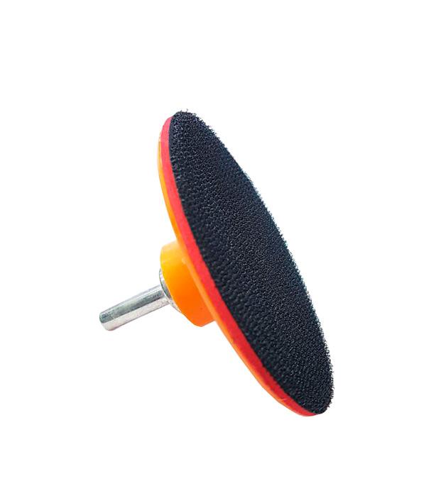 Насадка с липучкой для УШМ d=100 мм диск шлифовальный с липучкой р40 d 125 мм 5 шт перфорированный bosch профи