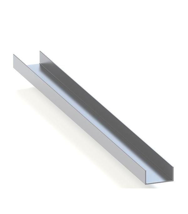 Профиль U-образный алюминиевый 13х16х13х1,5х2000 мм анодированный arlight алюминиевый профиль box60 side 2000 anod