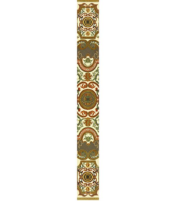 Плитка бордюр 600х65х8 мм Триумф 01 бежевый бордюр cifre ceramica trace listelo pattern warm 7x60