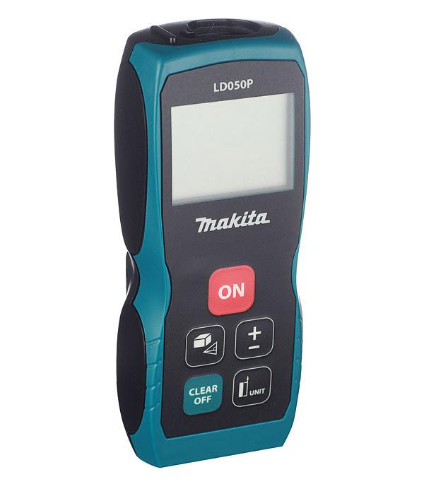 Дальномер лазерный Makita LD050P 50 м дальномер bosch plr 50 c 50 м 603672220