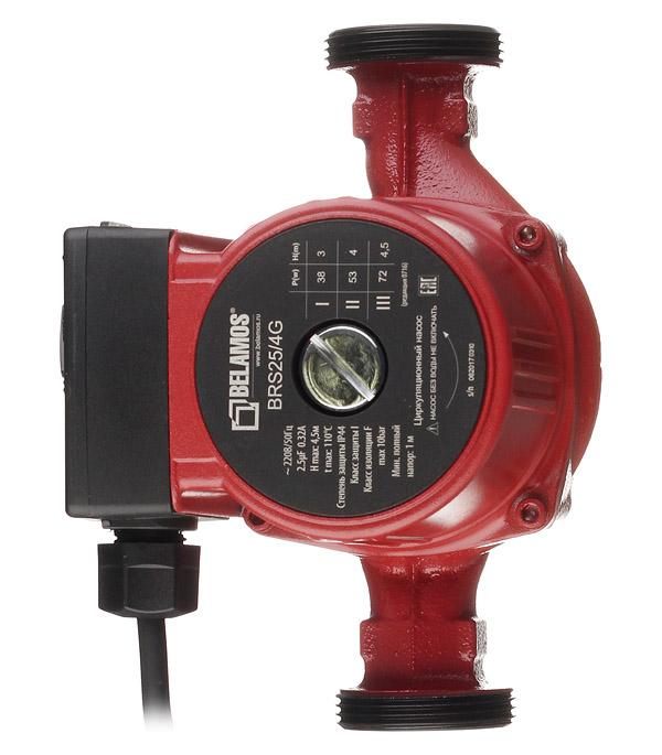 Циркуляционный насос Belamos BRS25/4G для систем отопления