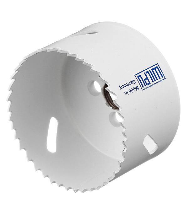 Коронка биметаллическая Wilpu (30070 00101) универсальная d70 мм крупный зуб