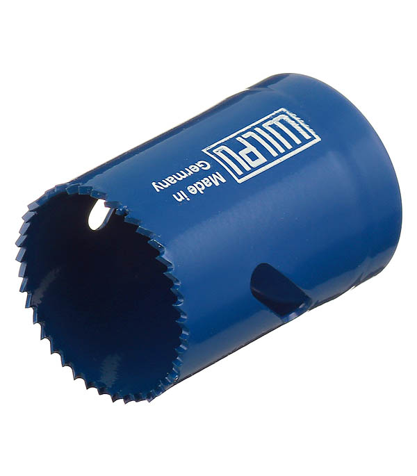 Коронка биметаллическая Wilpu (31035 00101) по металлу d35 мм мелкий зуб
