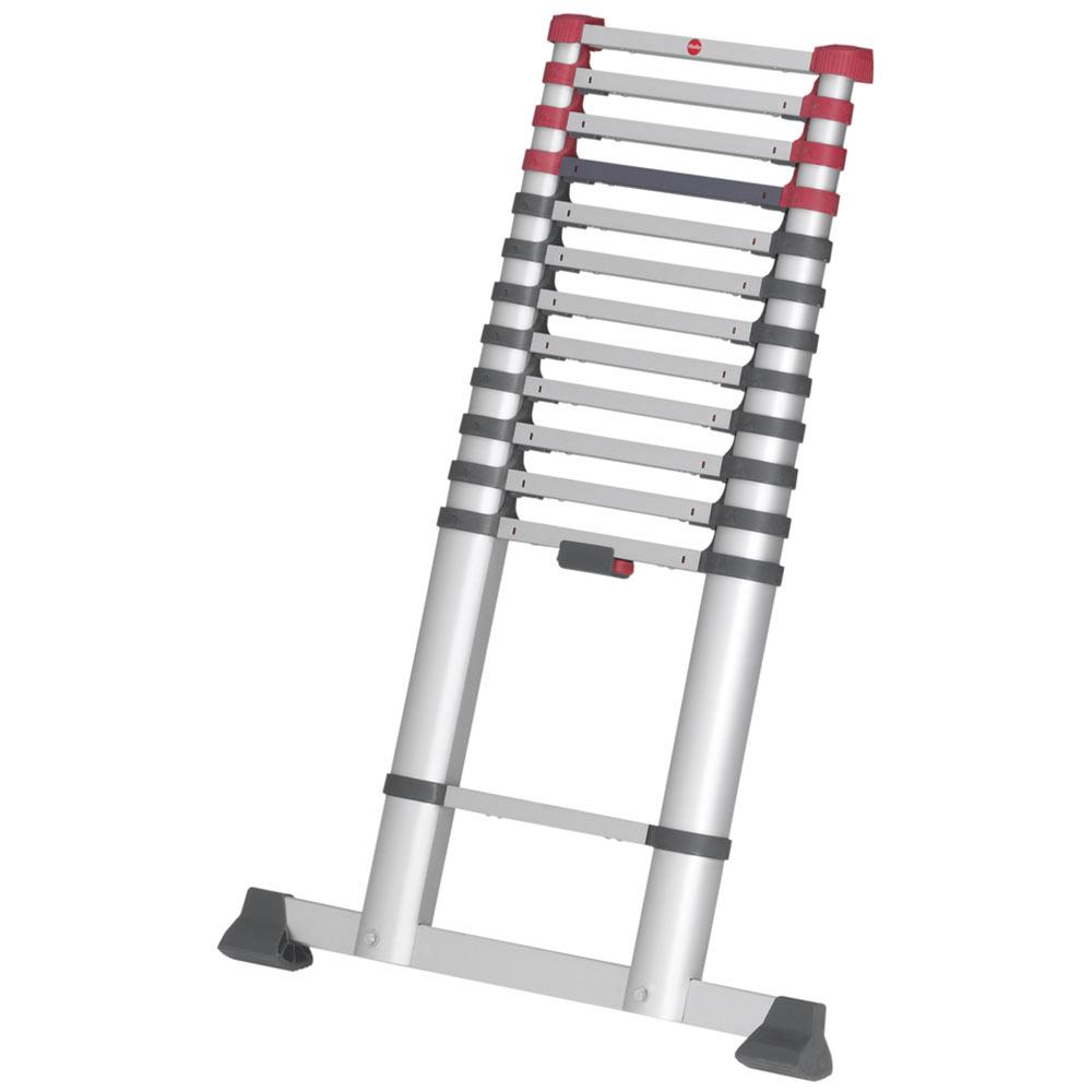 Фото - Лестница приставная Hailo T80 FlexLine 380 односекционная алюминиевая 1х13 бытовая лестница приставная новая высота односекционная алюминиевая 1х8 бытовая