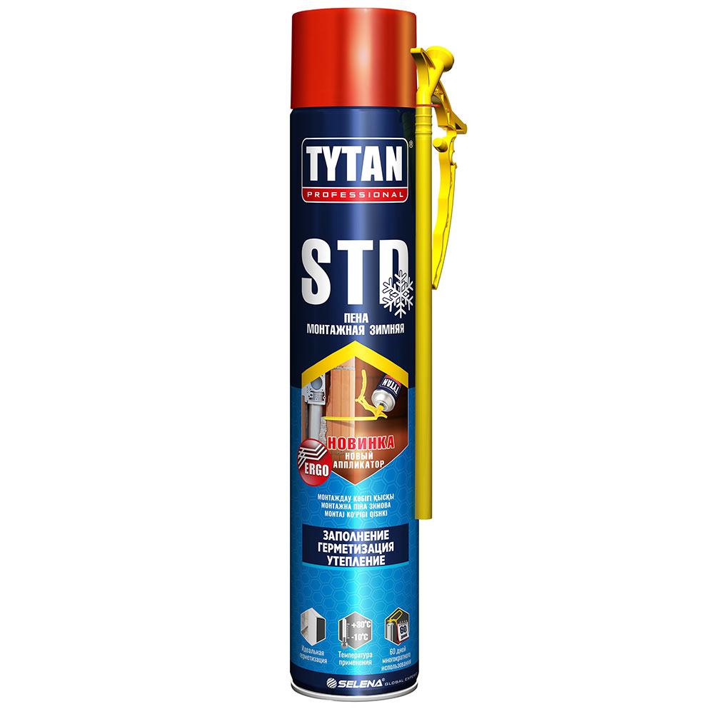 Пена монтажная Tytan O2 STD зимняя 750 мл