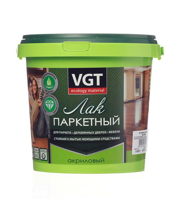 Купить Лак паркетный акриловый VGT матовый 0, 9 кг