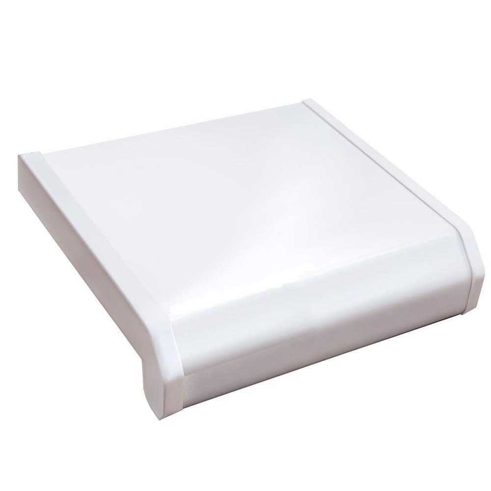 Подоконник пластиковый Danke Стандарт 300х2000х18 мм белый