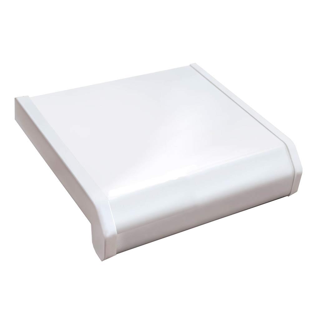Подоконник пластиковый Danke Стандарт 300х3000х18 мм белый