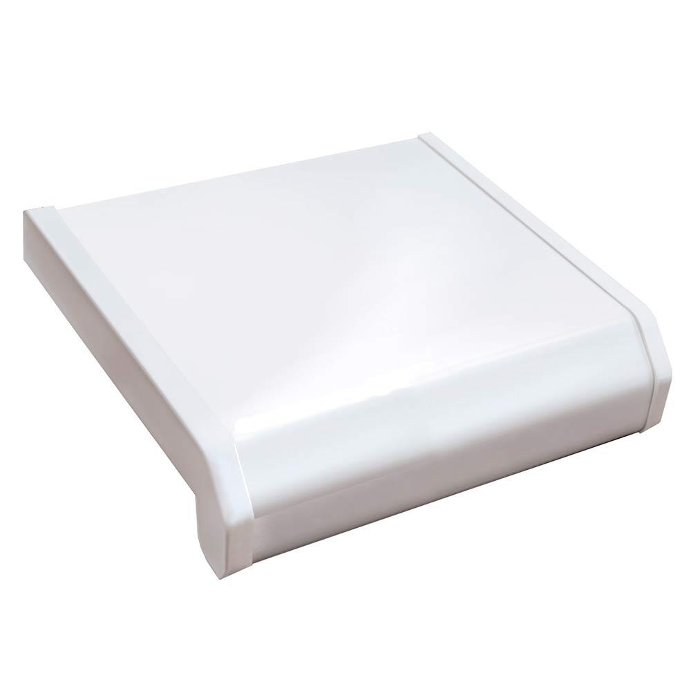 Подоконник пластиковый Danke Стандарт 400х3000х18 мм белый