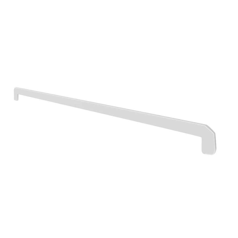 Заглушка торцевая для пластиковых подоконников Danke белая