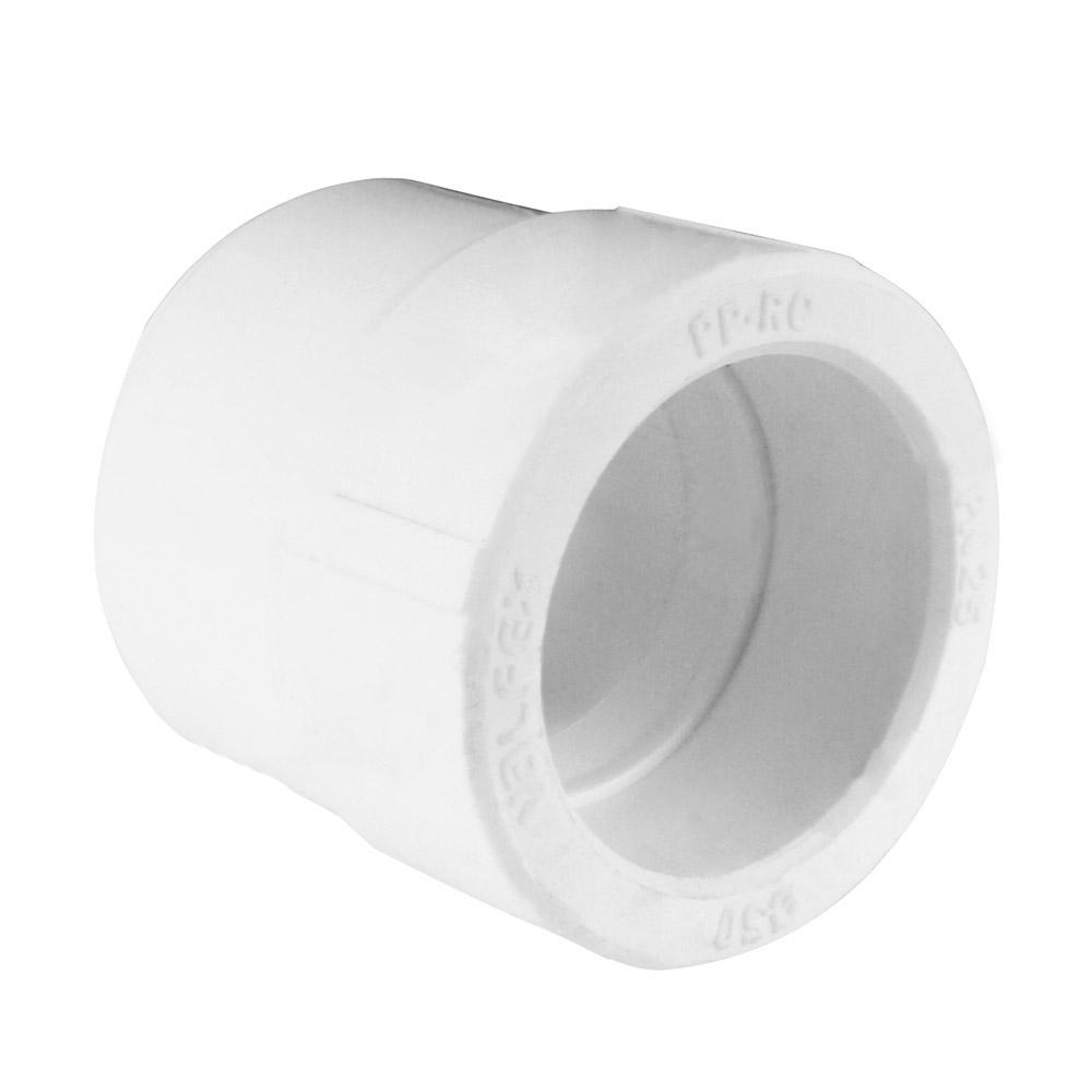 Муфта полипропиленовая переходная 40х32 мм муфта соединительная для трубы 25 мм 5шт tdm