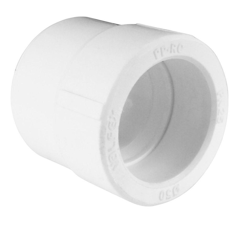 Муфта полипропиленовая переходная 50х32 мм муфта соединительная для трубы 25 мм 5шт tdm