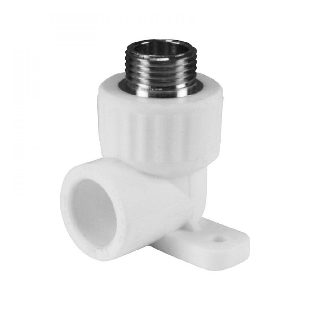 Водорозетка полипропиленовая 20 мм х 1/2 НР(ш) фото