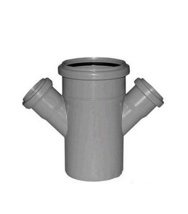 Крестовина Polytron Comfort d110х50х50 мм 45° пластиковая