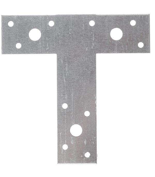 Пластина Т-образная оцинкованная 35х135х135х2 мм цены