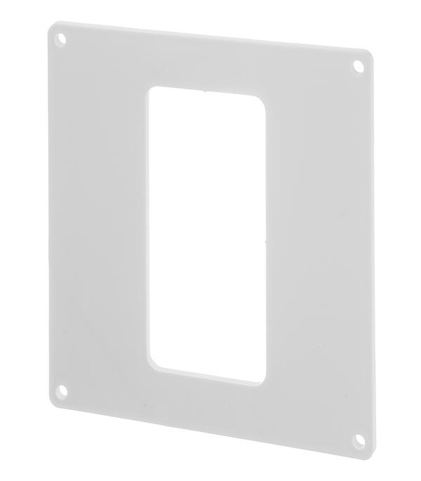 Накладка настенная для плоских воздуховодов пластиковая 55х110 мм цена
