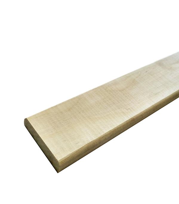 цена на Раскладка гладкая 45х12х2400 мм осина сорт А сращенная
