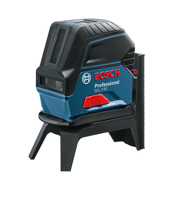 Нивелир лазерный Bosch GCL 2-50 с приемником LR6 lileng 821 usb powered 3 blade 2 mode fan black 4 x aa