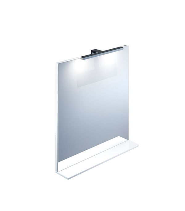 Зеркало IDDIS Custo 700 мм белое