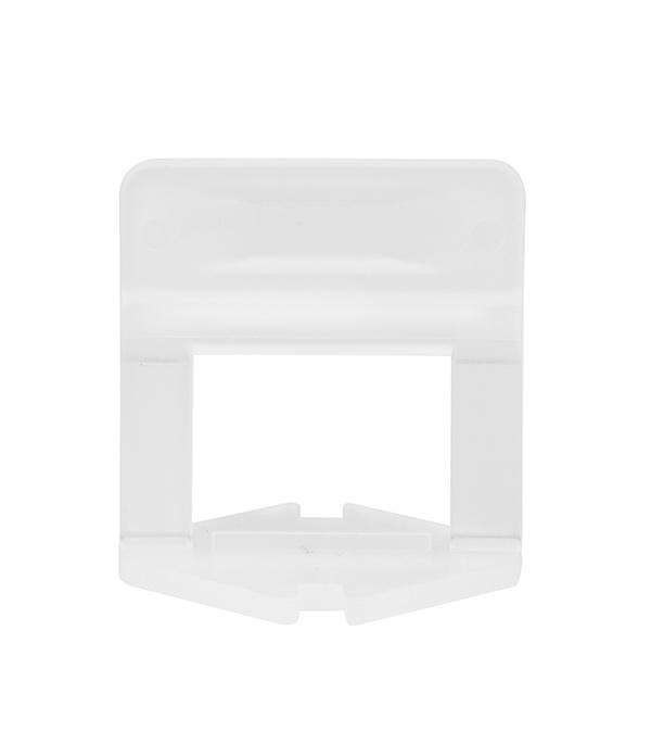 Купить Система выравнивания плитки Beorol зажим 2 мм (100 шт), Белый