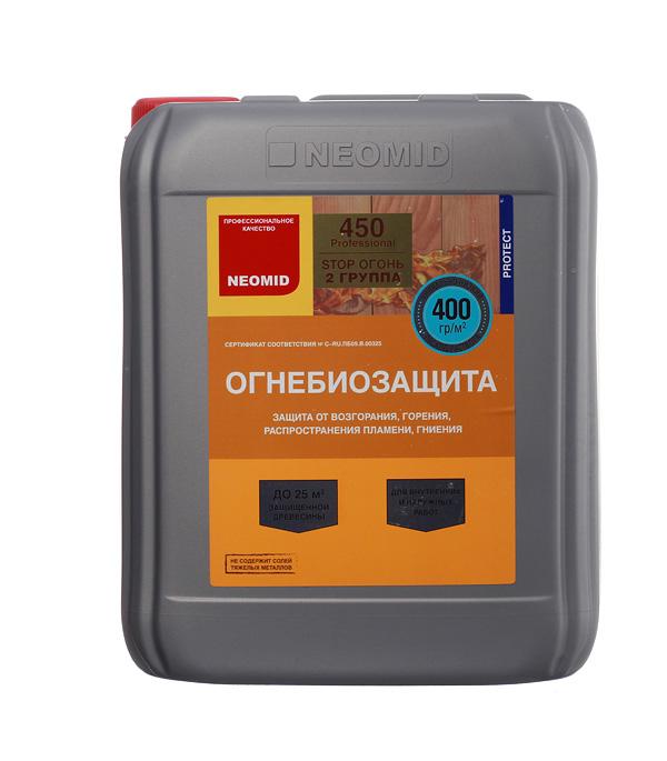 Антисептик Neomid 450 огнебиозащитный II группа бесцветный 10 кг