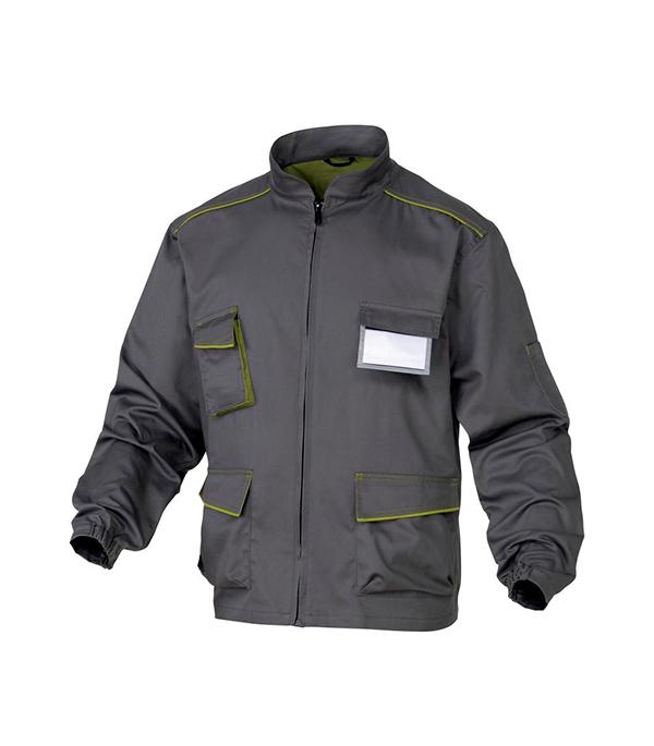 Куртка рабочая Delta Plus Panostyle 56-58 рост 180-188 см цвет серый/зеленый раствор sauflon delta plus 110ml
