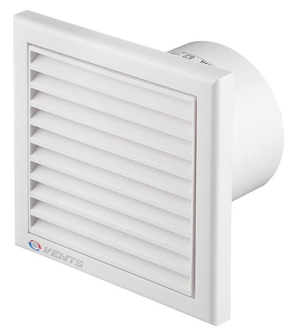 Вентилятор осевой d100 мм Вентс 100K белый цена и фото