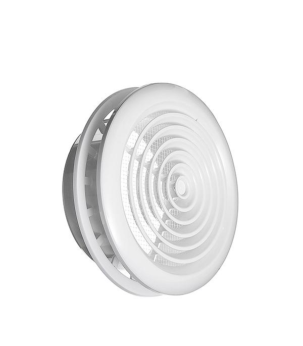 цена на Диффузор потолочный Вентс с фланцем круглый пластиковый d125 мм