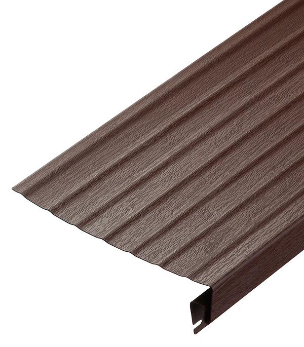 Ветровая (карнизная) доска Vinyl-On 3660 мм кофе сайдинг vinyl on планка финишная 3660 мм белая