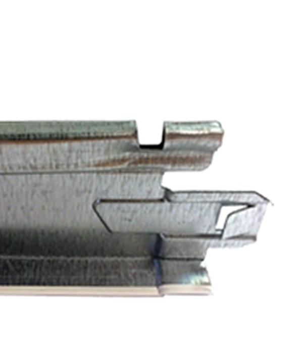 Купить Профиль к подвесному потолку T-24 Chicago Metallic 0, 6 м, Сталь