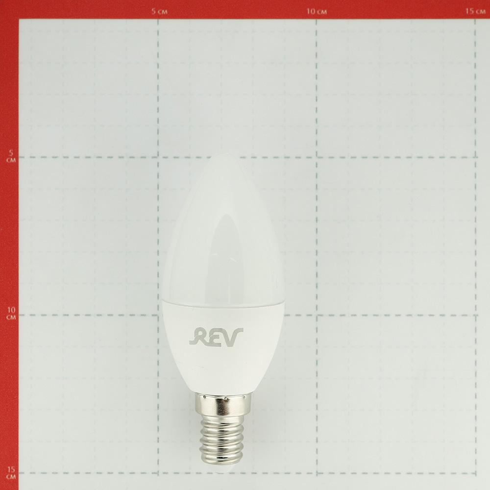 Лампа светодиодная REV 5 Вт E14 свеча С37 2700 К теплый свет 230 В матовая фото