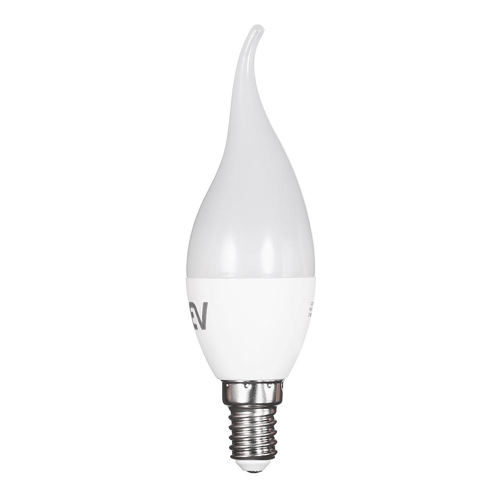 Лампа светодиодная REV 7 Вт E14 свеча на ветру FC37 2700 К теплый свет 230 В матовая цена 2017