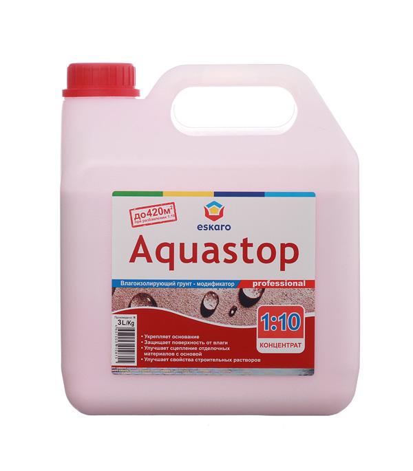 Грунт Eskaro Aquastop Professional концентрат 3 л