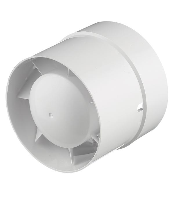 Вентилятор осевой Вентс 100ВКО d100 мм белый
