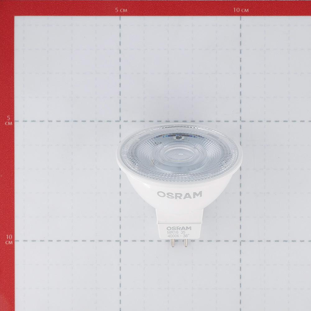 Лампа светодиодная Osram 4,2 Вт GU5.3 рефлектор MR16 4000 К естественный белый свет 12 В