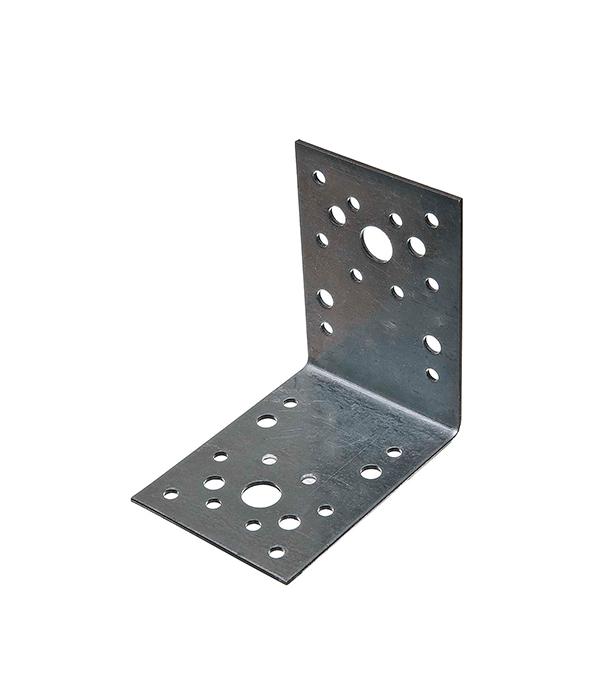 Купить Уголок крепежный оцинкованный 90х90х65х2 мм