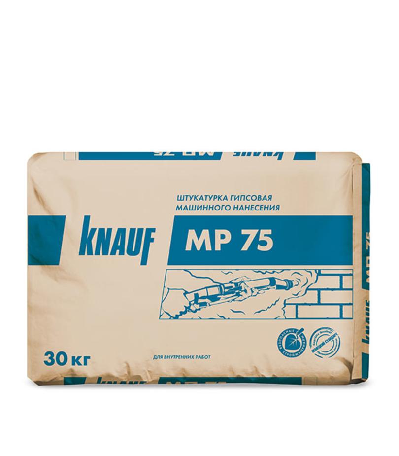 Фото «Штукатурка гипсовая Knauf МП-75 машинная 30 кг» в г.