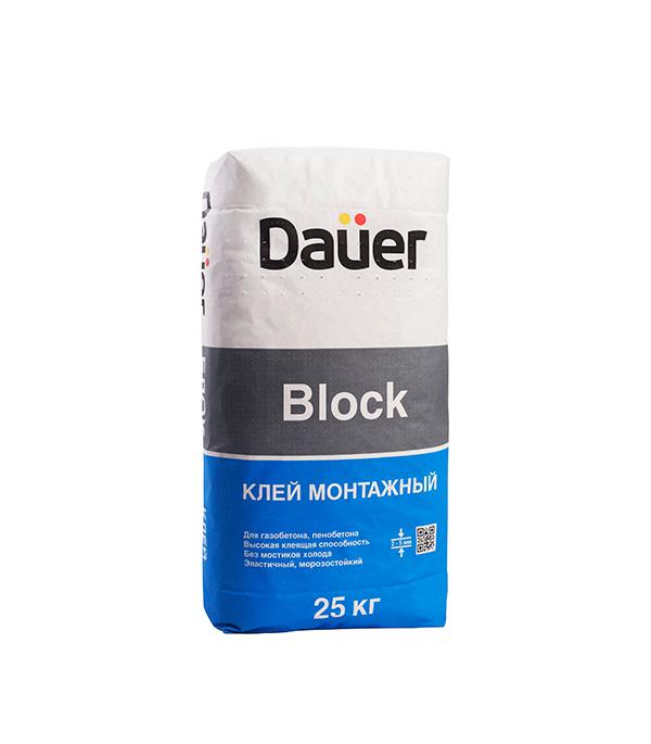 Клей для газобетона и кирпича Дауэр BLOCK 25 кг стоимость