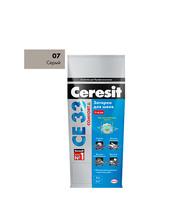 Затирка Церезит СЕ 33 №07 серый 2 кг