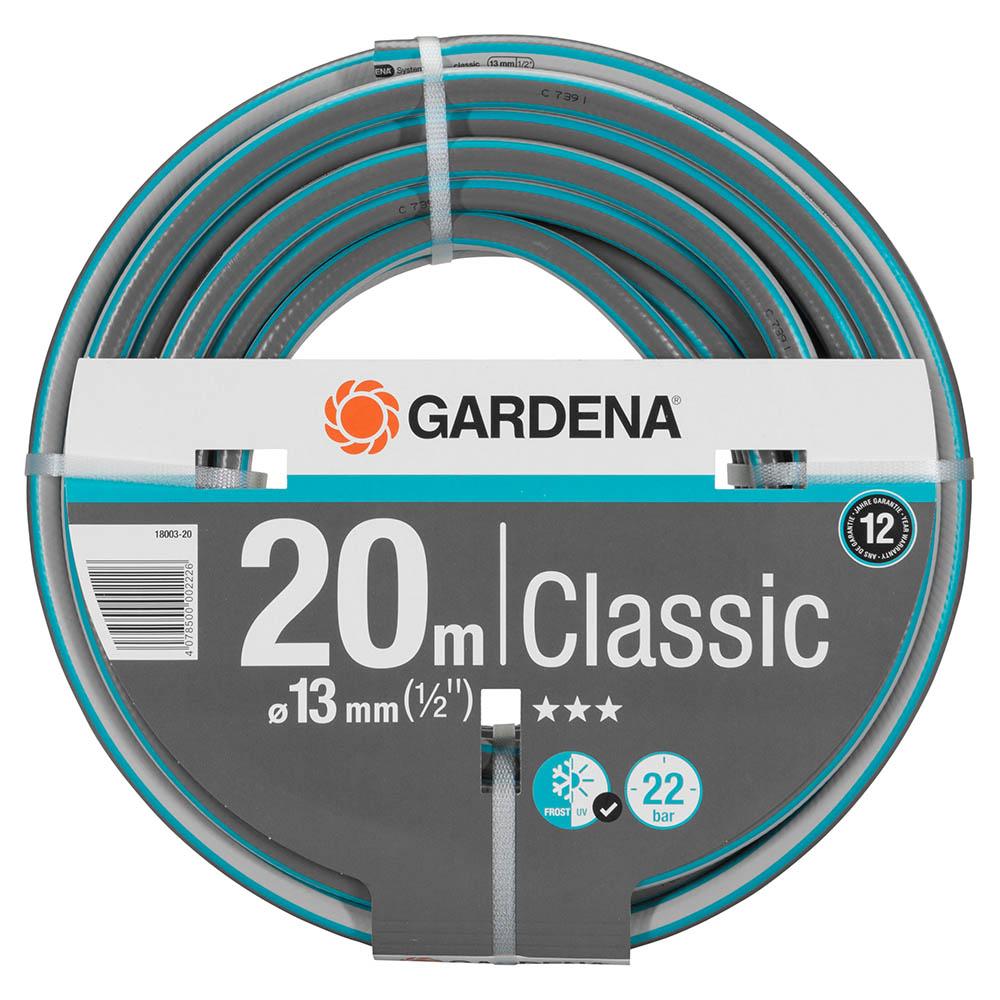 Шланг поливочный Gardena Classic 1/2 20 м трехслойный (18003-20)