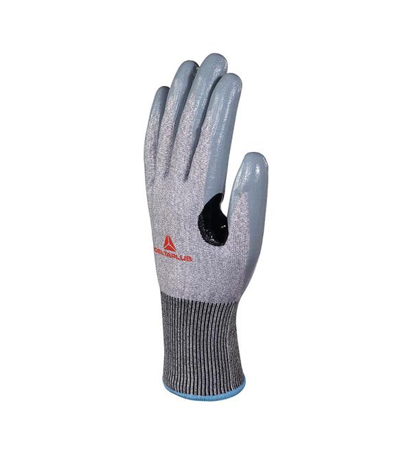 Перчатки антипорезные Delta Plus VECUT41 с нитриловым покрытием (1 пара)