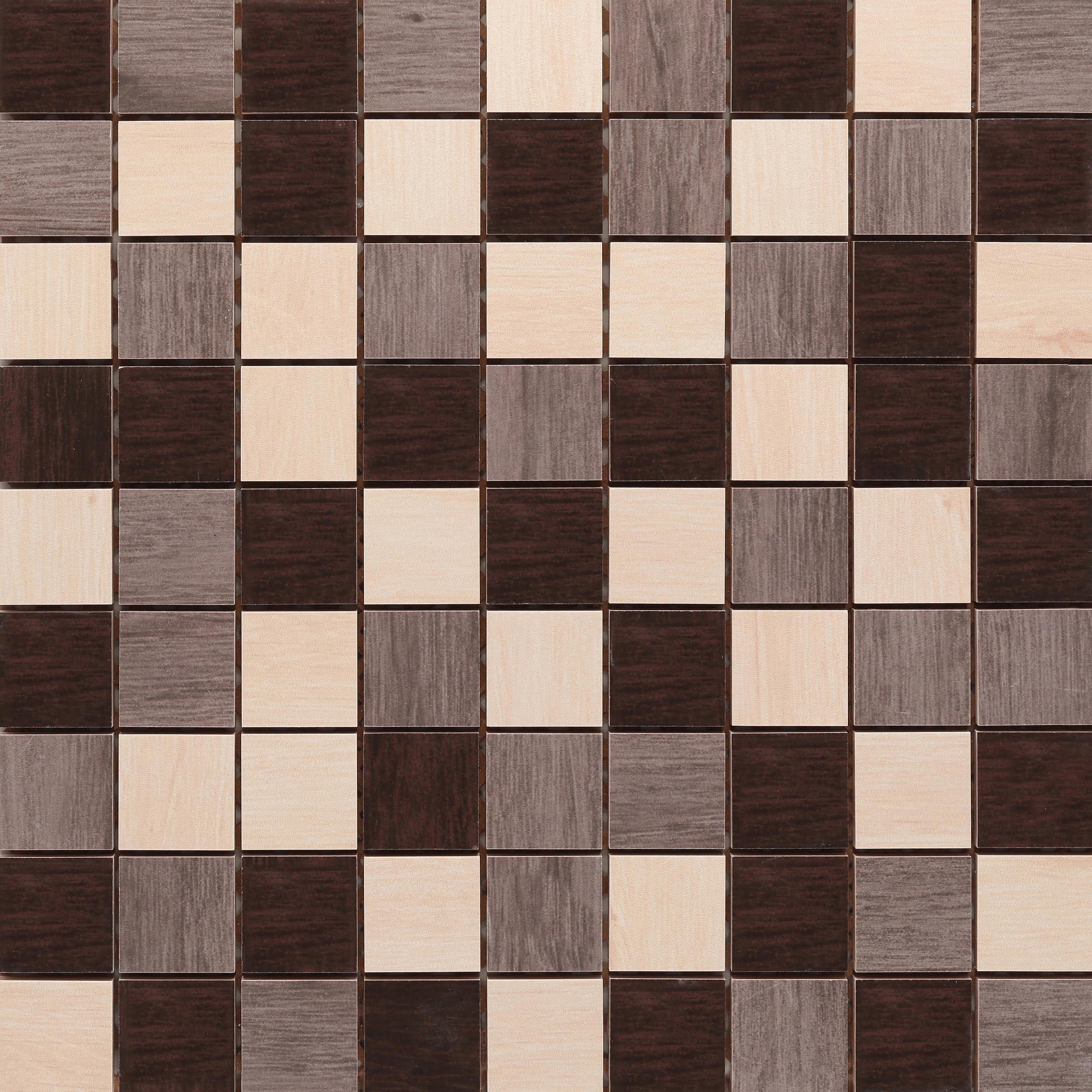 Плитка декор Cersanit Illusion многоцветная 300x300x8,5 мм