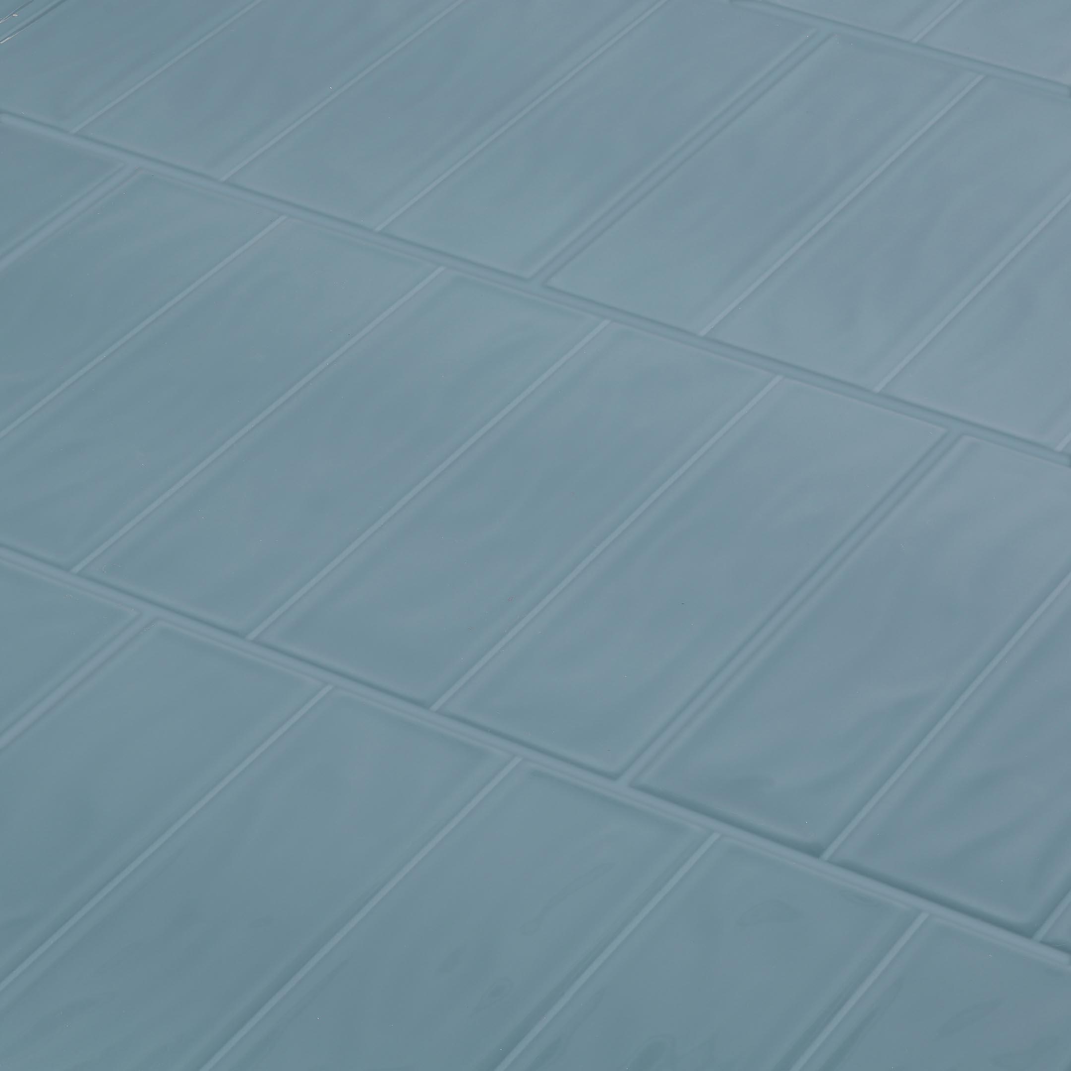 Плитка облицовочная Керамин Метро 2Т синий 275x400x7,5 мм (15 шт.=1,65 кв.м)