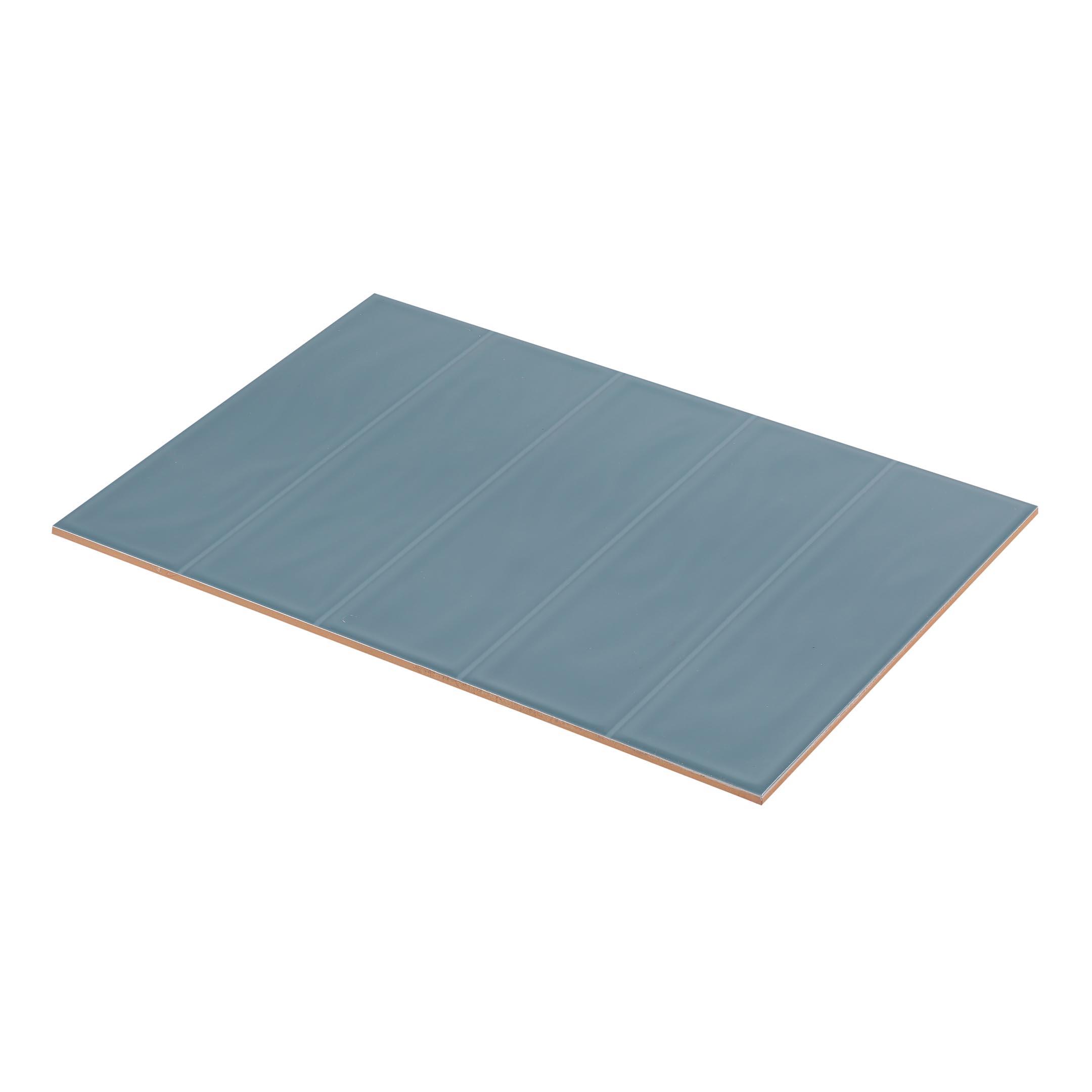 Плитка облицовочная Керамин Метро 2Т синий 275x400x7,5 мм (15 шт.=1,65 кв.м) фото