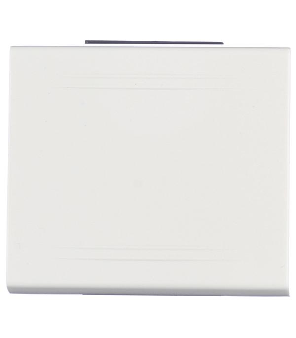 Купить Выключатель Viva для кабель-канала ДКС белый 2 модуля, Белый